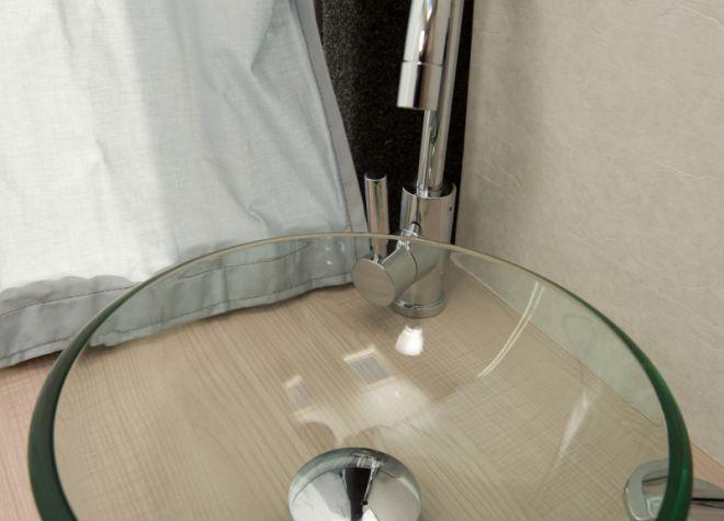 Lavabo fourgon sur mesure Lando
