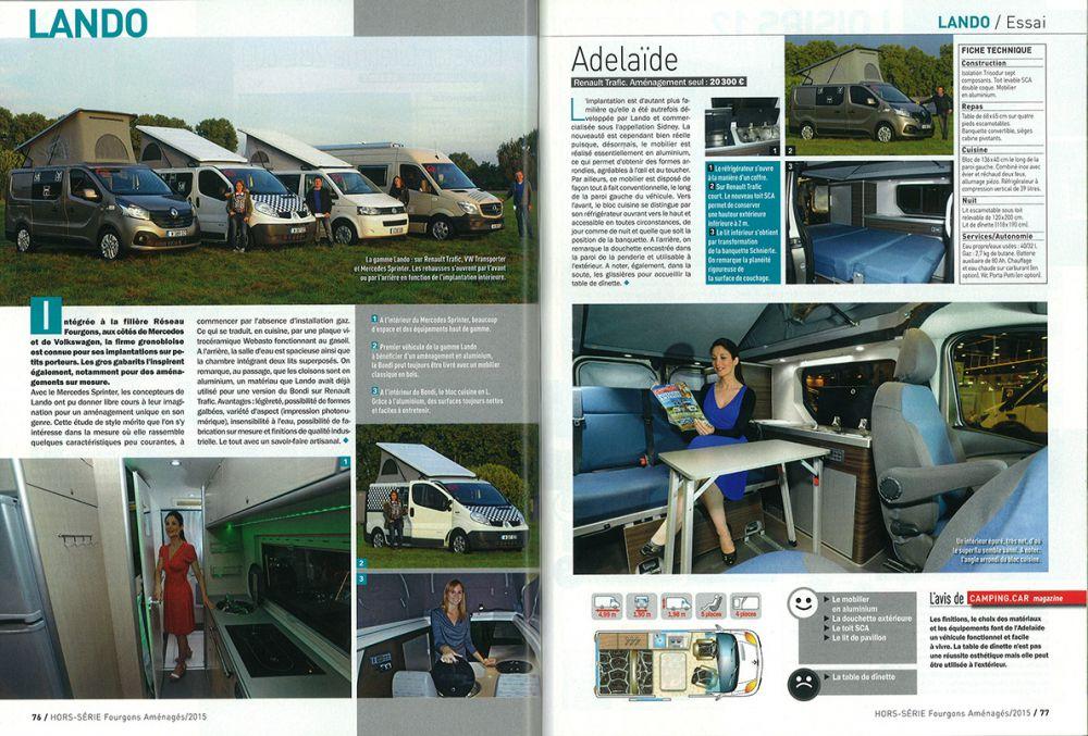 magazine camping car