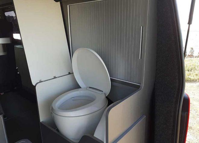 Fourgon Bondi toilettes